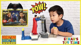 Batman vs Superman Toys Dawn of Justice Rock'Em Sock'Em Kids Family Children Superhero Fun Game