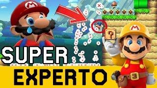 99% IMPOSIBLE en el COMIENZO!!! - SUPER EXPERTO NO SKIP | Super Mario Maker - ZetaSSJ