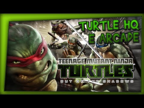 Let´s Play: TMNT: Out of the Shadows // Turtle HQ. Modo Arcade!?