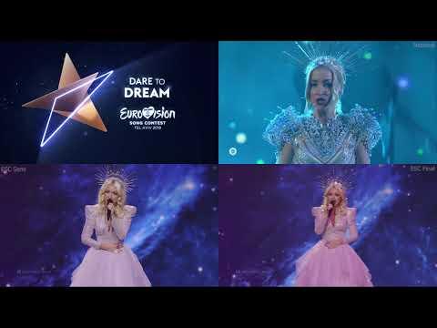 Kate Miller Heidke   Zero Gravity   4Split   Eurovision 2019   Australia