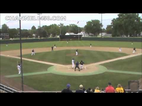 SHG's Ryne Elvers Hit's Bird With Pitch