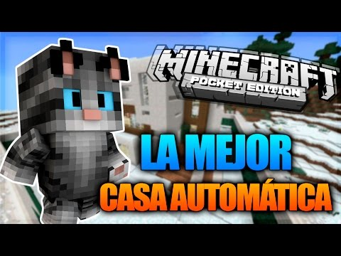 Como hacer una casa moderna en minecraft pe how to save for Como construir una casa moderna