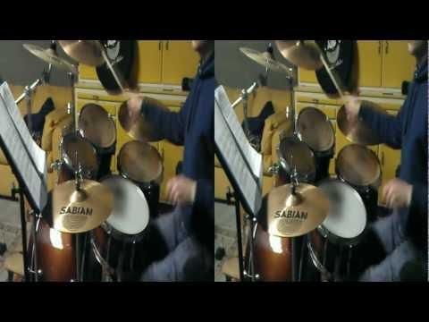 Borgore - Broken Rulz Drum Cover 3D