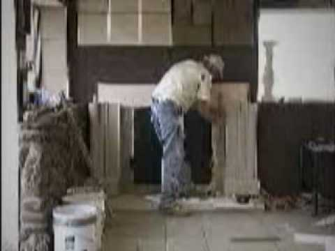 How to Install a cast stone fireplace