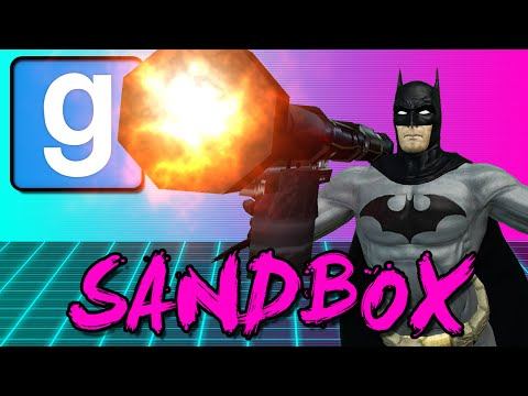 BOOT LAUNCHER COMPETITION! (Gmod Sandbox Funny Moments)