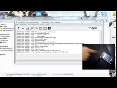 Flash Sony  Xperia Ray ST18i DZPCServices