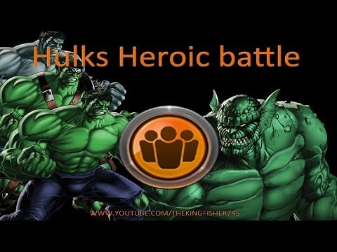 Marvel Avengers Alliance Season 2: Chapter 4, Mission 2 - Hulk's Heroic Battle