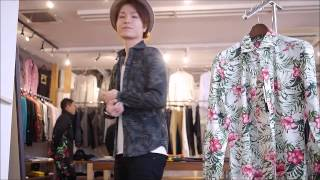 DELAY by win&sons OLD Flower DW Shirtsのご紹介 セレクトショップCRAWL