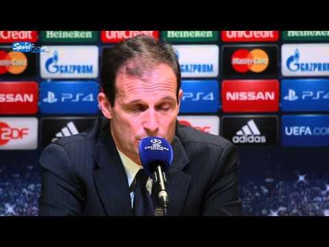 UEFA Champions League: BVB - Juventus F.C. Pk mit Massimiliano Allegri