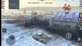WoT Blitz Gameplay по Русски (#1)