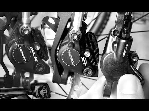 Shimano XT. SLX and Deore Brakes Compared - M615 vs M675 vs M785