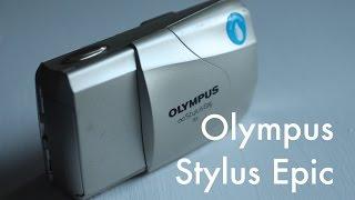 Classics the Olympus Stylus Epic Camera