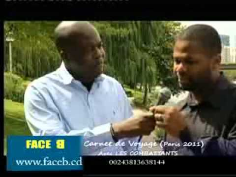 Paulin Mukendi dans: FACE B CARNET DE VOYAGE (Paris Août 2011)