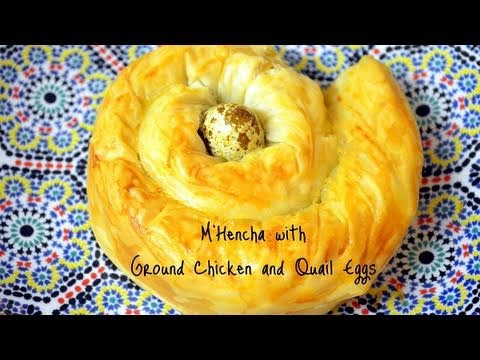 Mhencha with Ground Chicken and Quail Eggs &#8211; Ramadan Special!