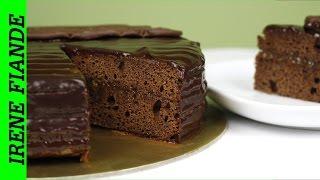 Торт Захер. Шоколадный торт Захер от Irene Fiande