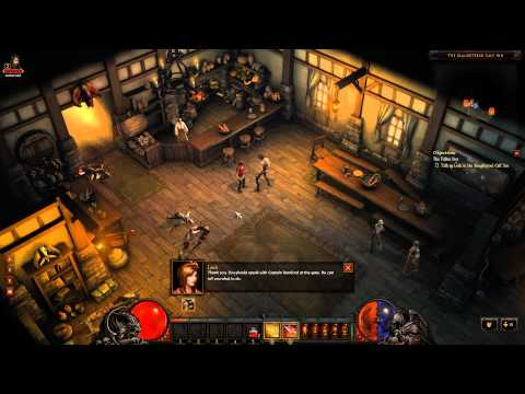 Diablo 3: Beta - Ep. 1 - Level 1-3 Gameplay as Demon Hunter