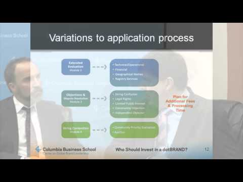 ICANN new TLD costs and considerations for dot brand applicants