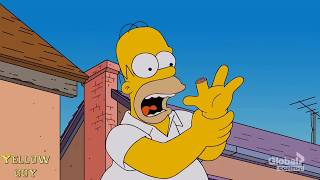 The simpsons - Homer eats his own finger!