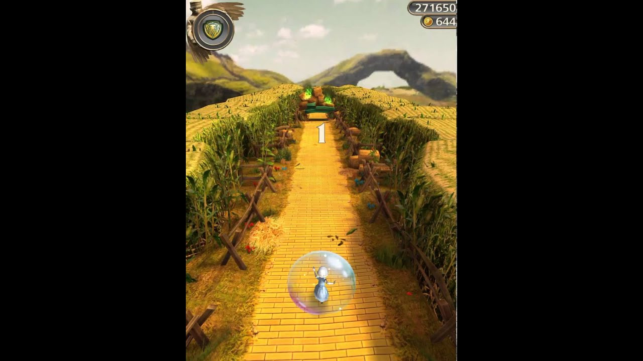 temple run oz -china girl in winkie country