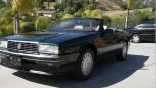 1993 Cadillac Allante 2 Owner Pininfarina Convertible 77k Orig Mi
