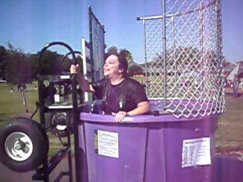 Mrs.Beale gets dunked