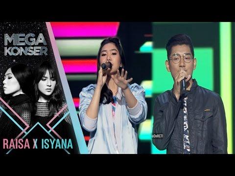 "Isyana Ft. JAZ ""Pesta - Dari Mata"" | Mega Konser Raisa X Isyana 2017"