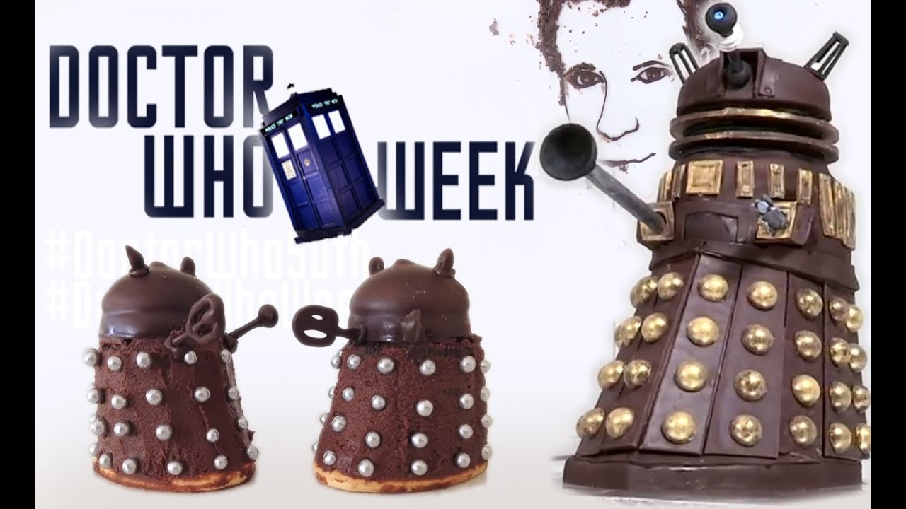 How To Make A Doctor Who Dalek Cake