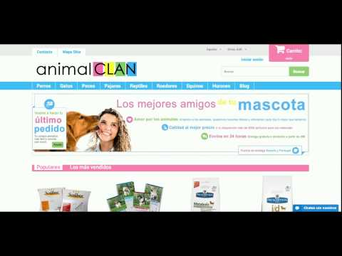 AnimalClan.com Descuentos y ofertas tienda online de comida y pienso animales