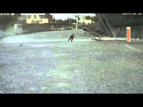 Lucky escape: Young girl avoids falling glass facade in Donetsk - BBC NEws