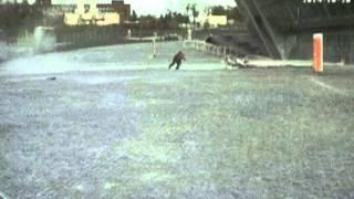 බිල්ඩින් එක කඩා වැටෙනකොට මේ ළමයා 99න් බේරෙන හැටි බලන්න Lucky escape: Young girl avoids falling glass