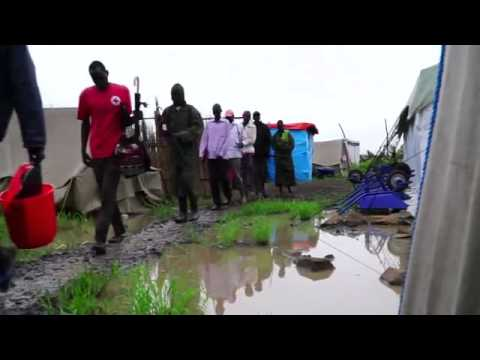 A Flooded Refugee Camp in Ethiopia Becomes a Lake