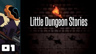 Let's Play Little Dungeon Stories - PC Gameplay Part 1 - Swipe Left Or Right To Dungeon Crawl