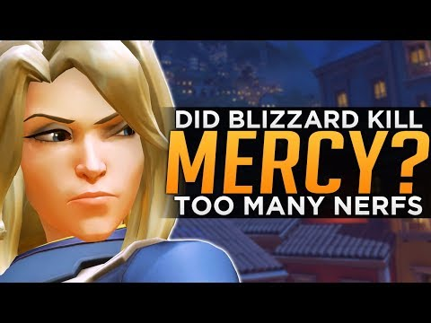 Overwatch: Has Blizzard NERFED Mercy Too Much?