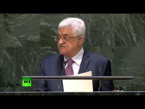 'Israel waging war of genocide in Gaza' - Mahmoud Abbas to UNGA (FULL SPEECH)