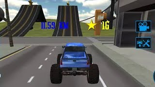 MONSTER TRUCK DRIVING SIMULATOR 3D Game - Free Trucks Video Games For Kids - Children Games to play