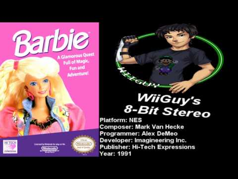 Barbie (nes) Soundtrack - Stereo video