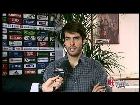 AC Milan | Kakà: 'Balotelli sta crescendo' (with subtitles)