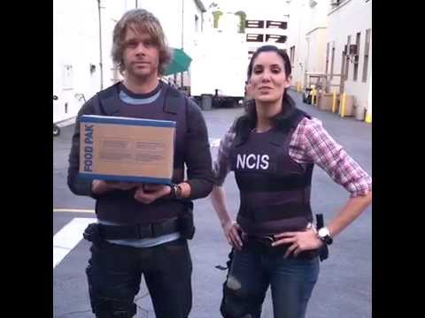 Daniela Ruah and Eric Christian Olsen #ThinkInsideTheBox