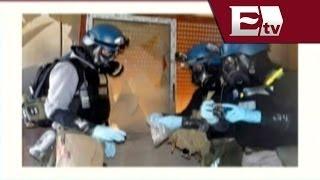 Rusia destruye arsenal químico de Siria / Global con Paola Barquet