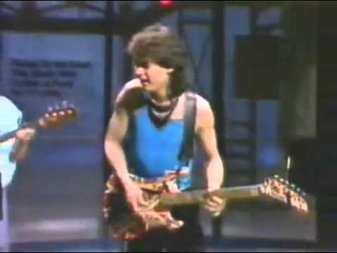 Eddie Van Halen- Letterman 1984- Panama