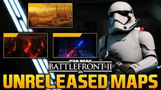 UNRELEASED GAME MODES & MAPS: Star Wars Battlefront 2 Leaked Game Modes & Maps?