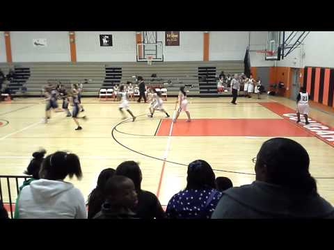 Calhoun middle school basketball game