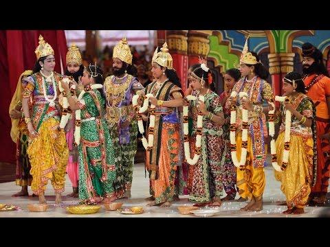 Seetha Rama Kalyanam - Drama presentation by Youth & Bal Vikas Alumni of Tamil Nadu - Oct 31 2015