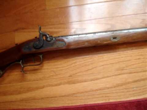 Thompson Center Arms 50 cal Hawken Black Powder Rifle Flea Market Find