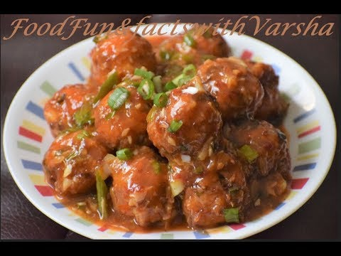 रेस्टोरेंट स्टाइल वेजिटेबल मंचूरियन रेसिपी, Veg Manchurian Recipe