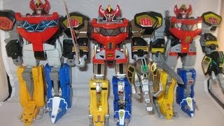 Legacy Megazord Review (Mighty Morphin Power Rangers)