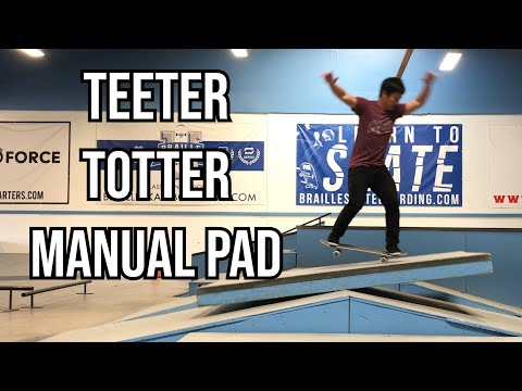 THE TEETER TOTTER MANUAL PAD