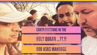 Video: In Quran 2:62, does God say Jews and Christians will be saved? - Mansur Ahmad vs Rob 1/2