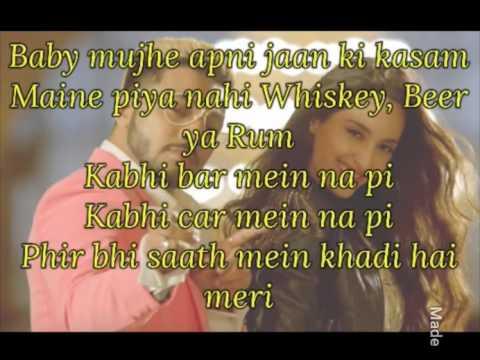 Baby Marvake Maanegi Lyrics Full Song || Raftaar
