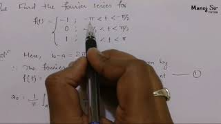 4. Fourier Series | Discontinuity | Problem#1 | Complete Concept